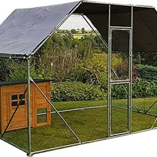 2m x 3m Walk in Dog Kennel Pen Run Plein air Exercice Cage – Cage 04 FR