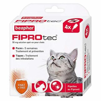 Beaphar Pipettes Antiparasitaires Pour Chat
