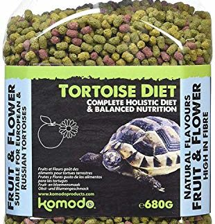 Komodo Diet Fruit & Flower Nourriture pour Tortue 680 g