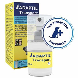 ADAPTIL Transport Spray 20ml – Anti-Stress pour Chien, Voyage, Education, Dressage