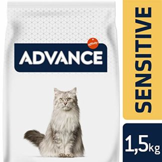 Advance Sensitive Croquettes Saumon pour Chat Stérilisé Adulte
