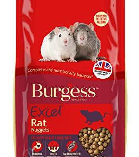 Burgess Excel Lot de 4 pépites de Rat 1,5 kg