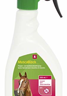 KERBL 299720  MuscaBlock Spray Anti-Mouches pour Cheval 500 ml