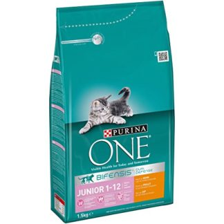 Purina One BIFENSIS Junior Sèche-Chat Riche en Poulet et céréales