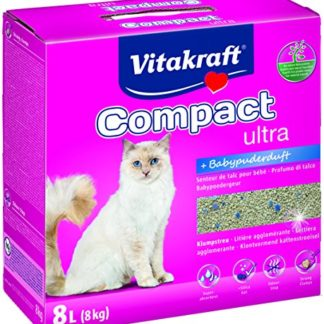 Vitakraft 16079 Compact Ultra Plus pour chat, 8 kg