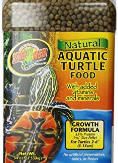 Zoo Med Growth Formula Alimentation Naturelle pour Tortue Aquatique 1,53 kg
